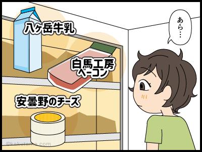 スーパーで山に関する名前の商品を見るとワクワクする漫画1
