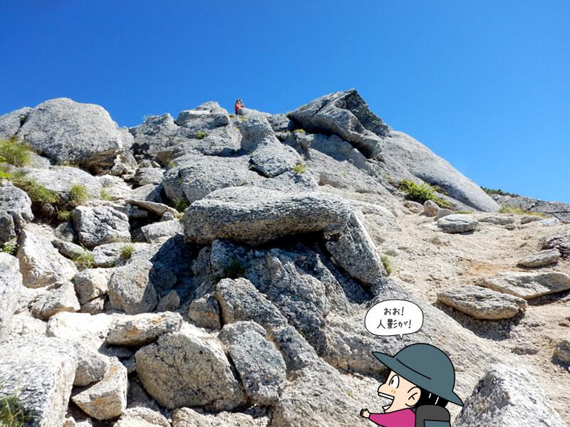 一つ一つが大きい石