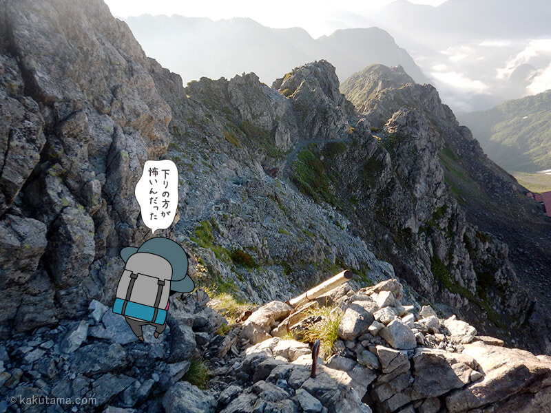 下山を開始する3