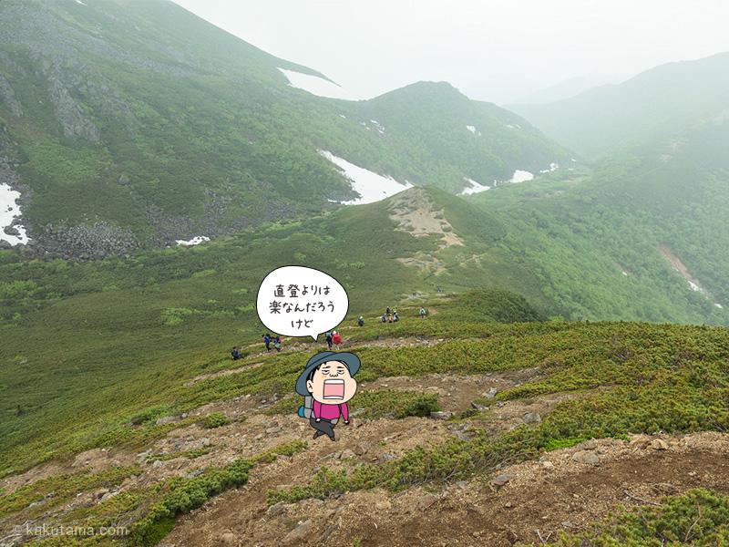 登山用語「七曲り」