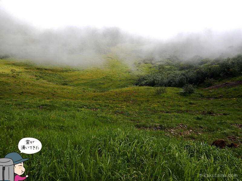 五輪高原と雲2