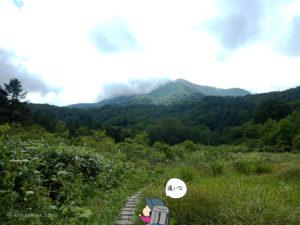 兵馬ノ平から見る山々