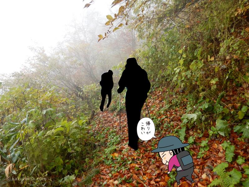 北野口登山口登山道を歩く12