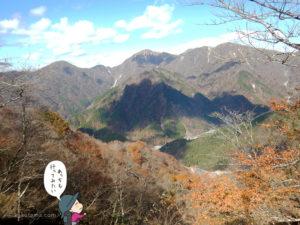 丹沢の奥の山々