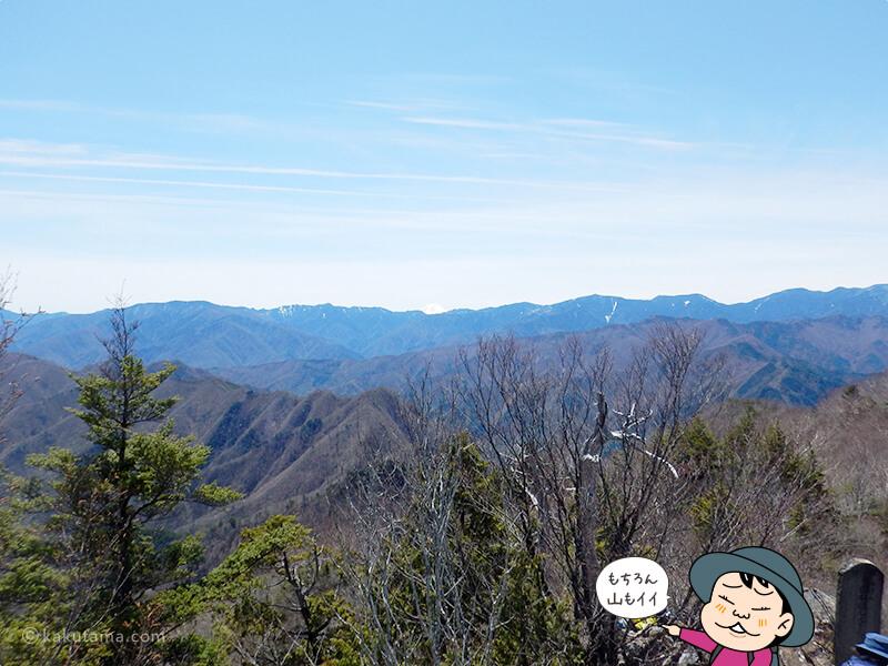 両神山山頂からの眺め2
