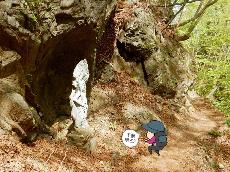 両神山表参道コースの不動明王