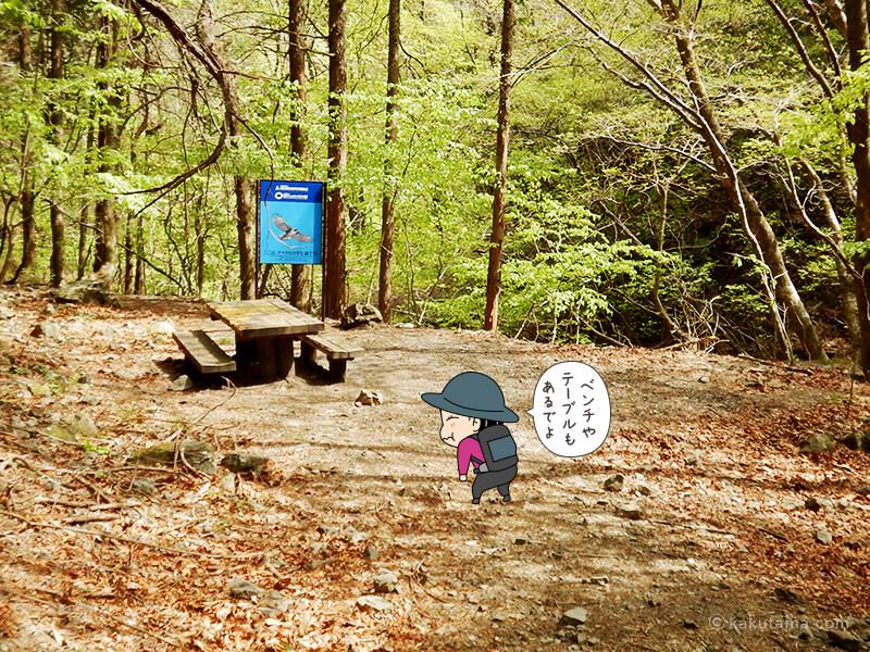 両神山表参道コースの広場2