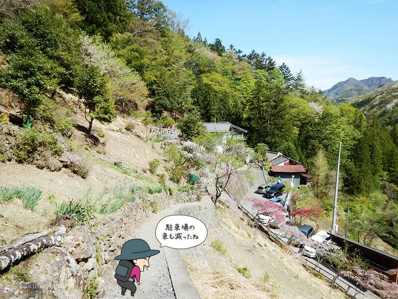 両神山荘まで戻ってきた