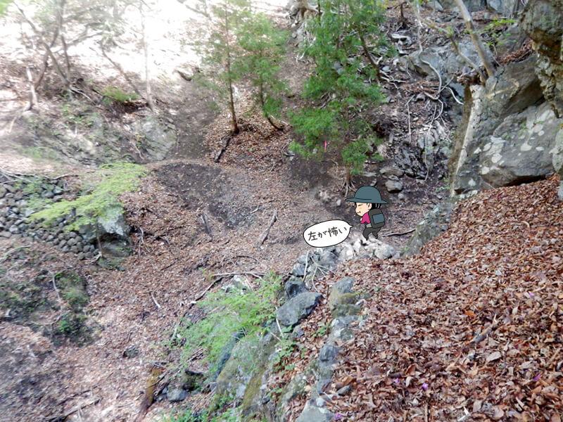 七滝沢コースを歩く