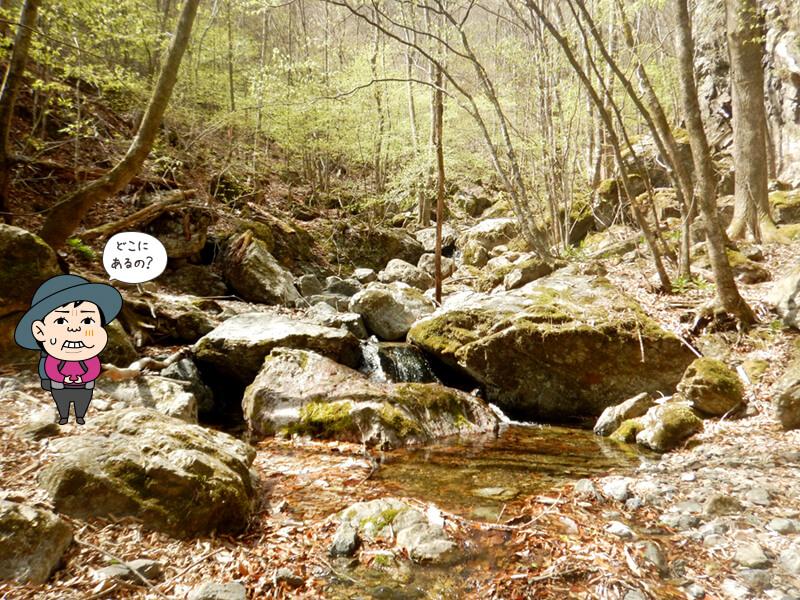 赤滝を探す