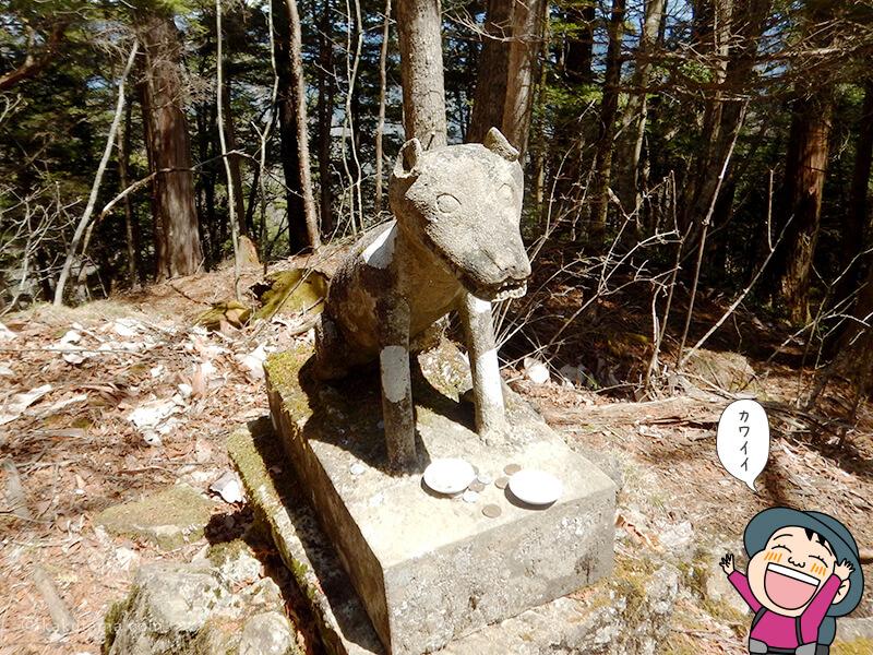 両神神社の狼1