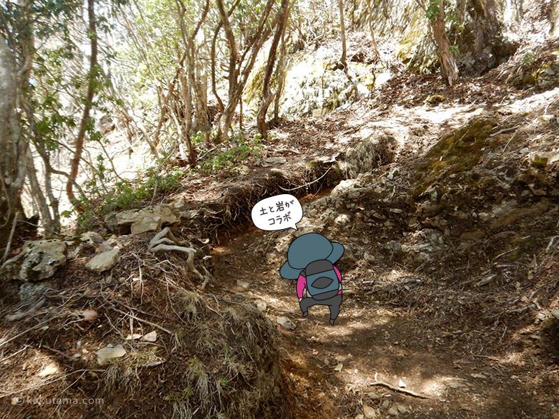 両神神社から山頂へ向かって歩く5