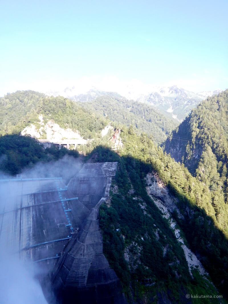 スケールの大きい黒部ダム
