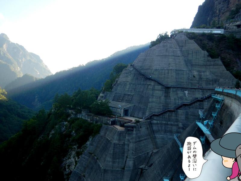 黒部ダムの観光施設