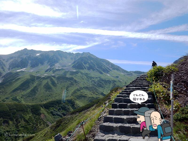 階段を登ったり降りたり1