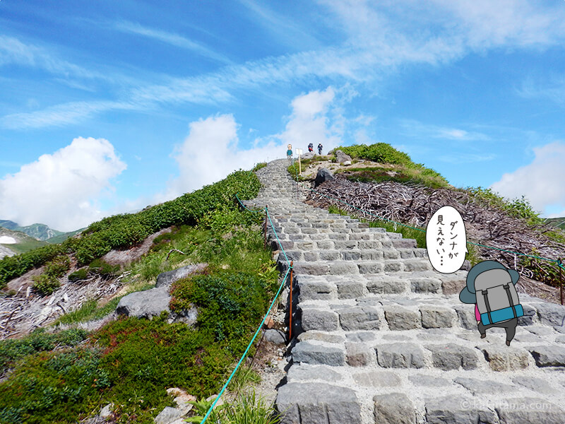 階段を登ったり降りたり2