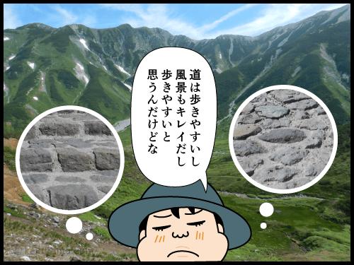 どうにもこうにも歩くのが遅い連れに困っている登山者の漫画2