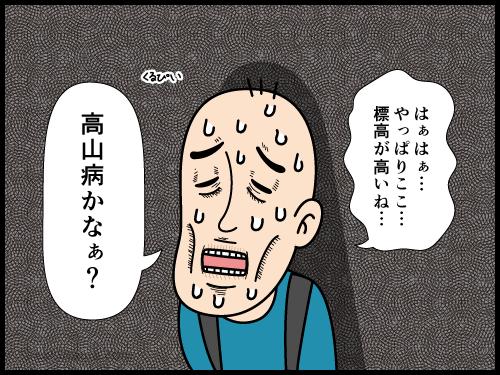 どうにもこうにも歩くのが遅い連れに困っている登山者の漫画3