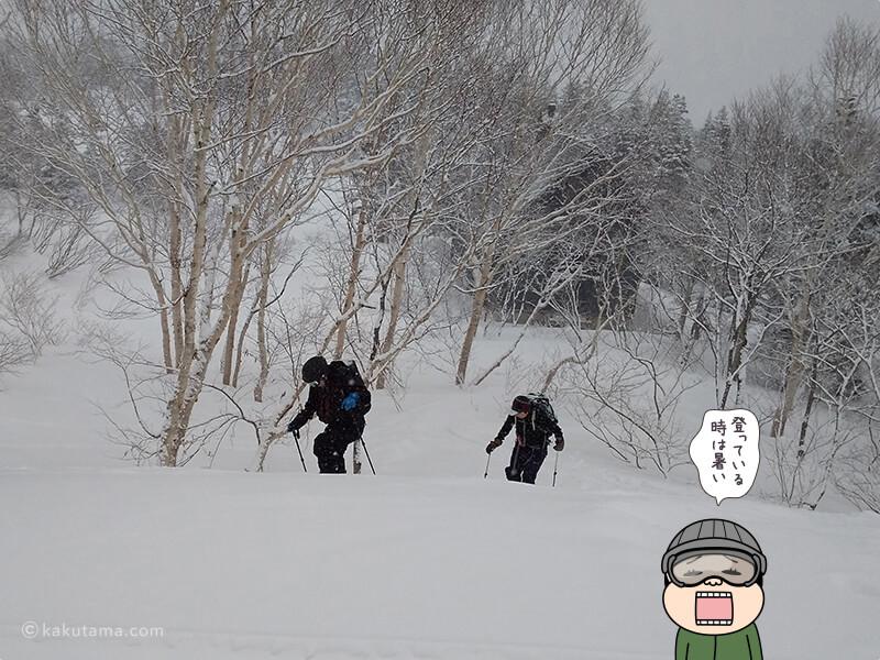 雪原を歩く2