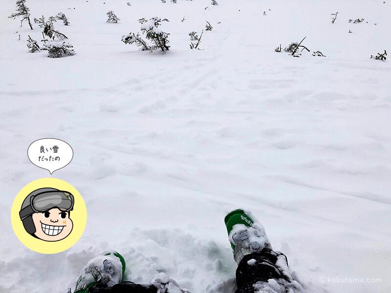 雪質がいい