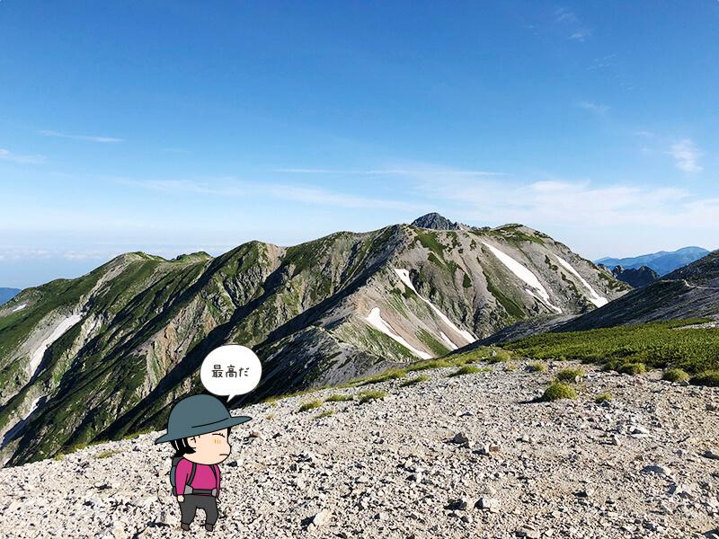 立山からの眺め