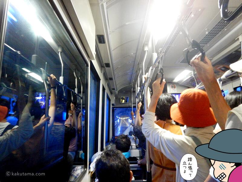 電気バスに乗る