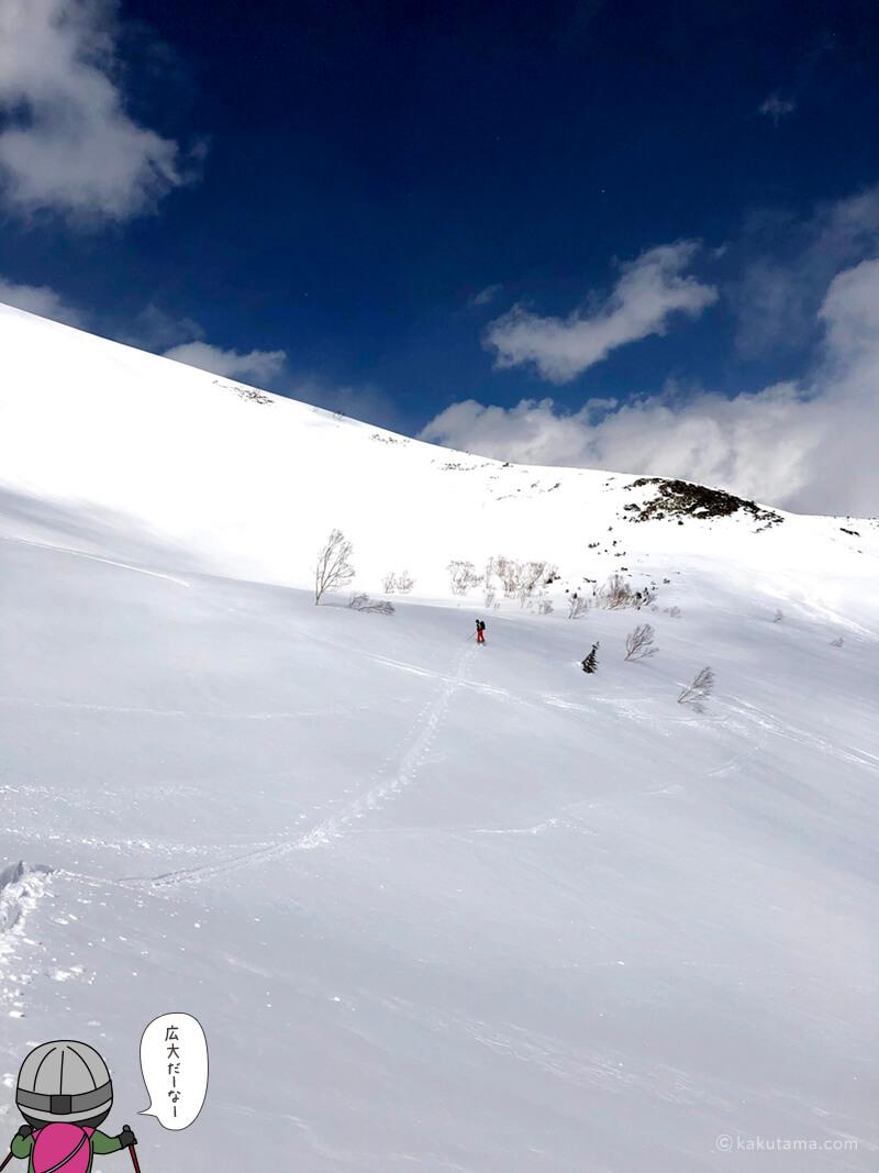広大な雪山