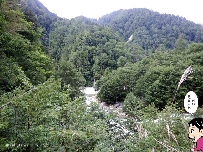 奥黒部の川