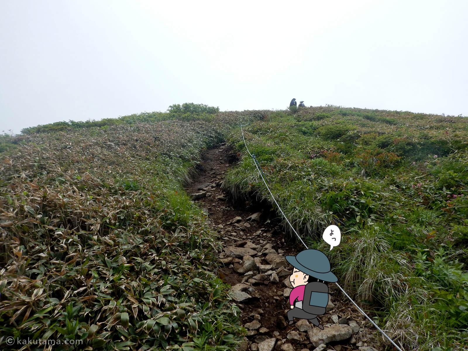 松手山から平標山山頂まで18