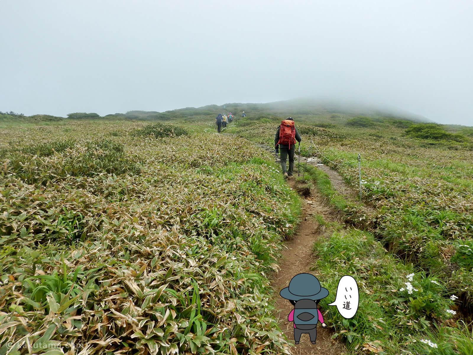 仙ノ倉山へ向かって進む7