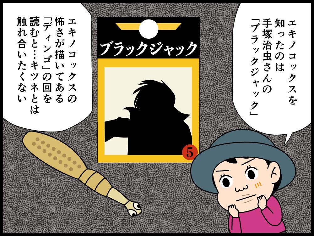 登山用語「狐」にまつわる四コマ漫画1