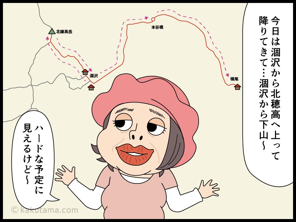 年をとっても登山は楽しめると思う漫画1