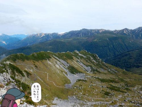 黒部五郎岳からの眺め3