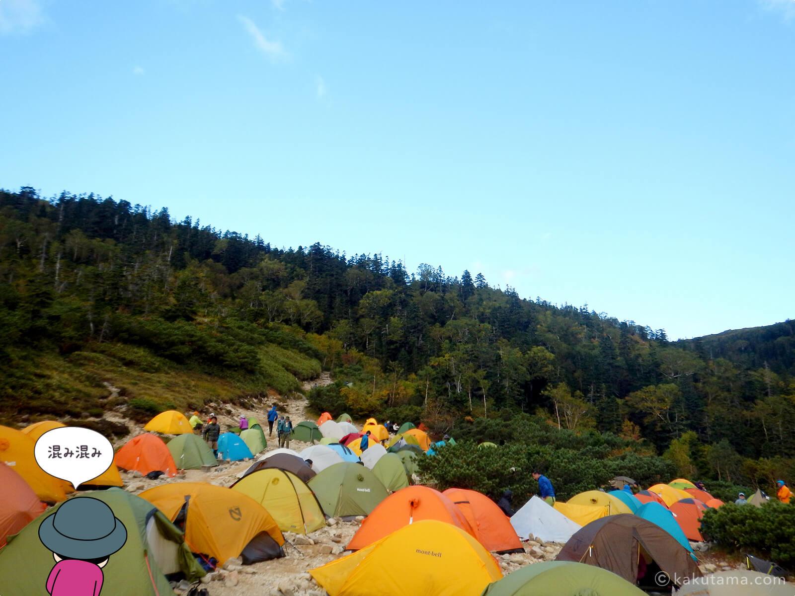 薬師峠のキャンプ場