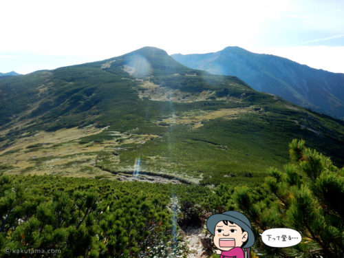 とても登れる気がしない黒部五郎岳