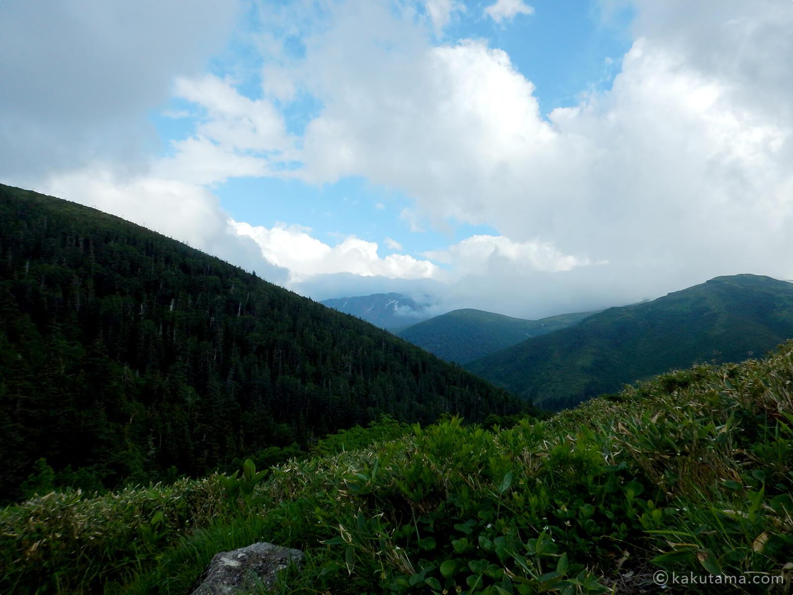 薬師峠キャンプ場からの眺め