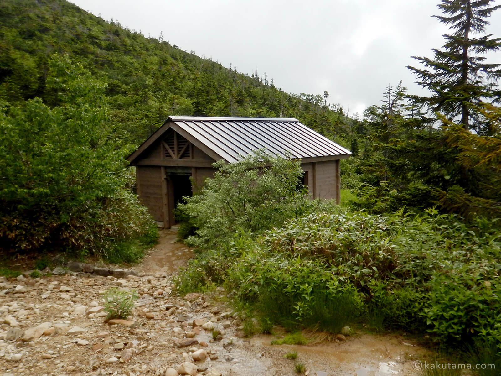 薬師峠キャンプ場のトイレ