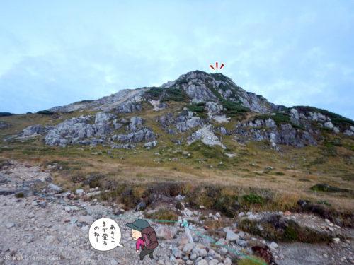 三俣蓮華岳を目指す1