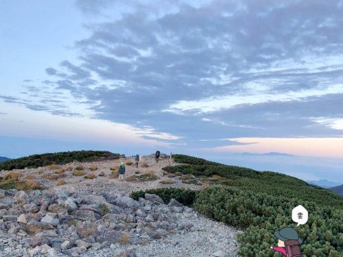 三俣蓮華岳からの眺め2