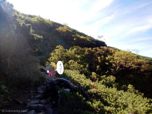 登りがキツイ2