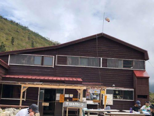 黒部五郎小屋の写真