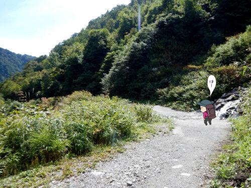 林道歩き1