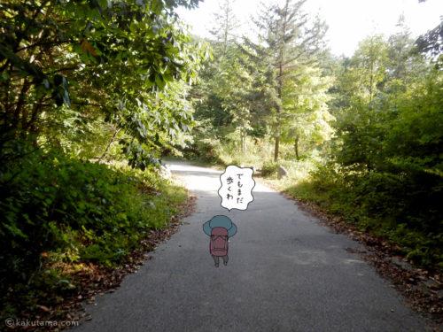 新穂高温泉まで歩く