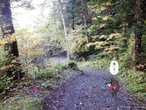 徳沢〜横尾間を歩く5