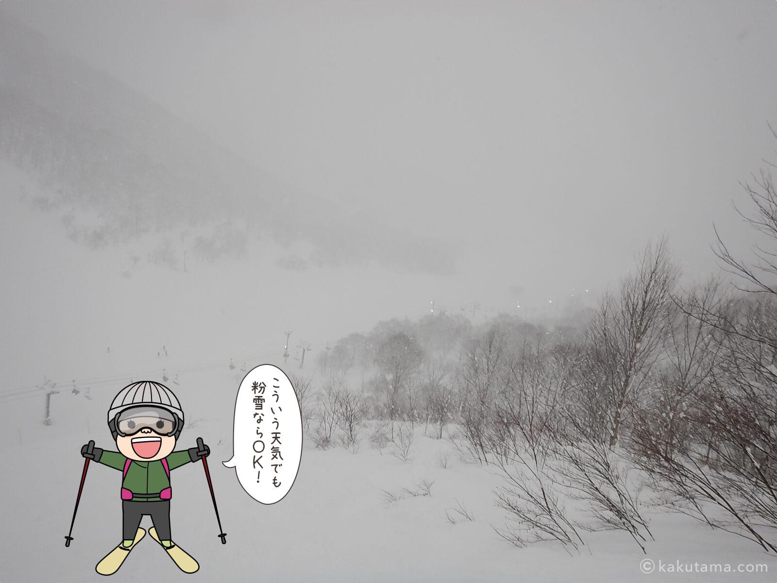 登山用語「粉雪」にまつわる写真