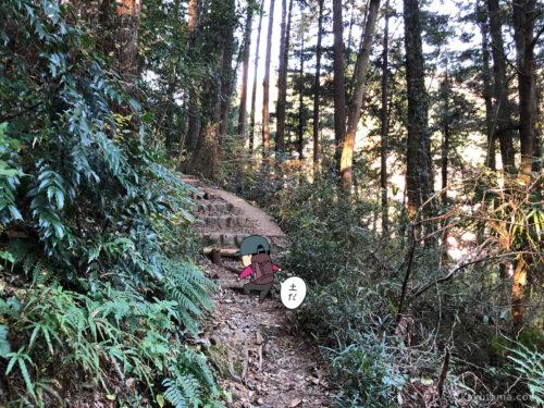 愛宕神社へ向かって登る2