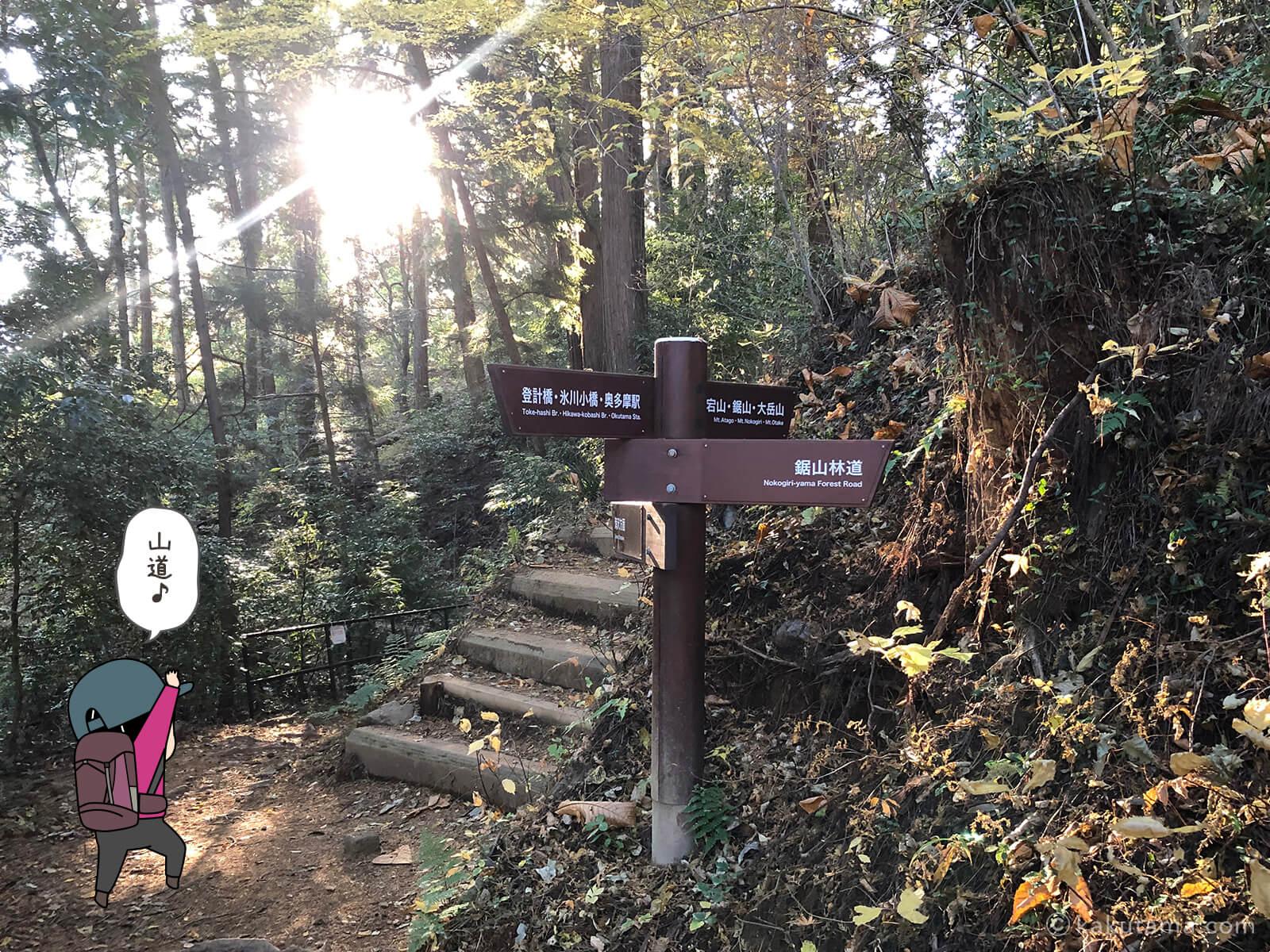 愛宕神社へ向かって登る3