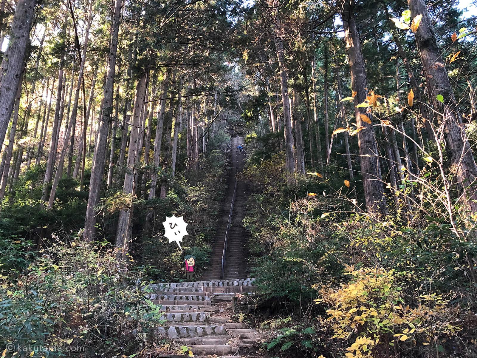 愛宕神社手前の長い階段1