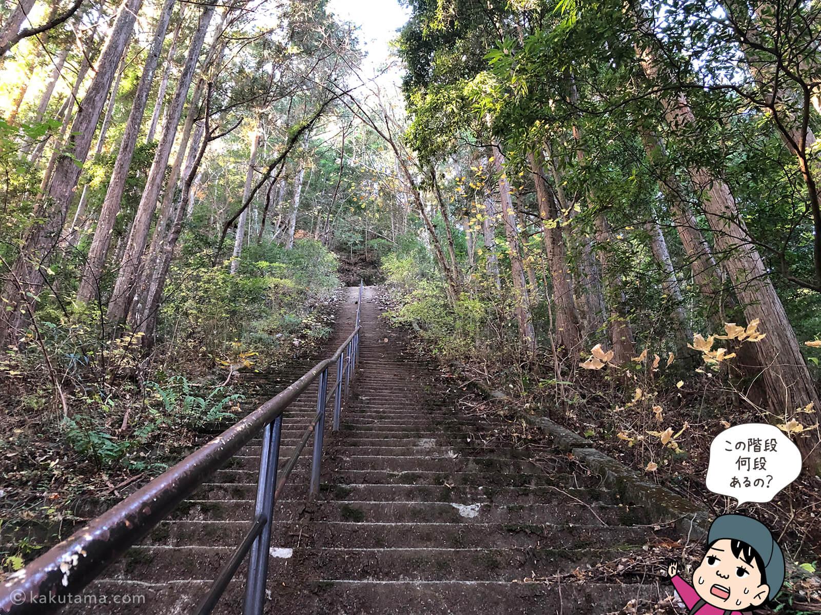 愛宕神社手前の長い階段2