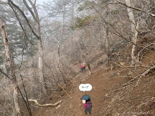 表三ツ峠コースをひたすら登る3